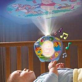 Tomy 2015 Winnie the Pooh Sweet Dreams Baby Night Light 5011666020153