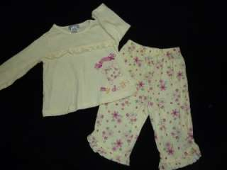 TODDLER 12 Months SLEEPWEAR SLEEPERS PAJAMA summer CLOTHES LOT