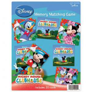 Mickey Mouse Clubhouse Memory Matching Game