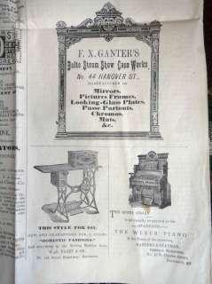 1890 antiqu CHRISTIAN RELIGIOUS NEWSPAPER~THE MESSENGER