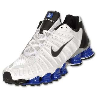 NIKE SHOX TLX MENS WHITE/OLD ROYAL/BLACK BRAND NEW IN BOX LIMITED