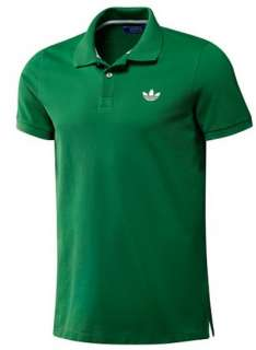 NEW Adidas ORIGINALS Mens Pique Polo Shirt Fairway Green Casual