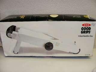 OXO Good Grips V Blade Mandoline Slicer French Fry Slicer Julienne W