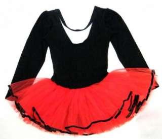 New Girl Birthday Party Leotard Ballet Tutu Dance Skate Skirt Costume