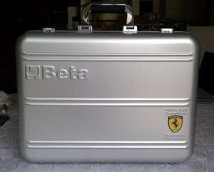 Ferrari F1 Beta Tools Aluminum Briefcase Tool Case Luggage RARE