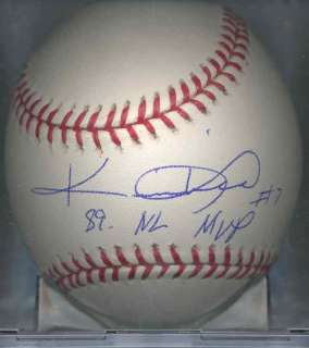 Kevin Mitchell San Francisco Giants OML Signed Ball MVP