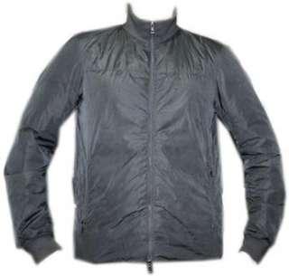 PRADA Mens Luxury Designer Grey Jacket Size Large L 44 Model ART