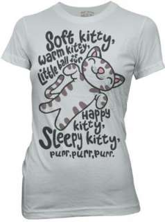 From Big Bang Theory Officially Licensed Junior T Shirt Soft Kitty