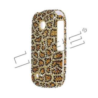 Spotted LEOPARD Rhinestone DIAMOND Bling Case for LG COSMOS TOUCH