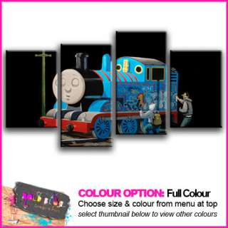 NEW   BANKSY Thomas Tank Engine   10 COLOURS / SIZES
