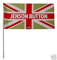 Jenson Button Union Jack Flag