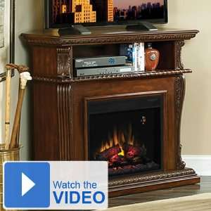 Classic Flame Corinth Media Console Electric Fireplace