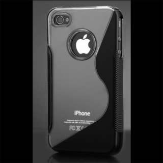 London Magic Store   Black Silicone Case Cover Pouch For iPhone 4S 4 S