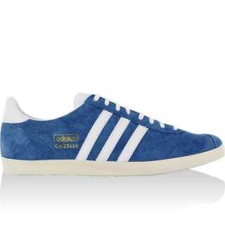 ADIDAS GAZELLE OG scarpe 36 37 38 39 BLU vintage NEW