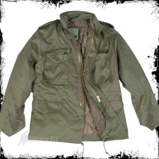 Military 1st   CLASSIC M65 ARMY COMBAT FIELD JACKET COAT OLIVE  S 5XL