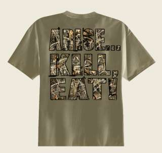 Buck Commander Arise Kill Eat Youth T Shirt Duck Deer