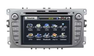 GPS car DVD player for Ford Focus 2009 2011 Mondeo