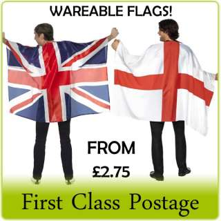ST GEORGE / UNION JACK FLAG FANCY DRESS BRITISH OLYMPICS JUBILEE