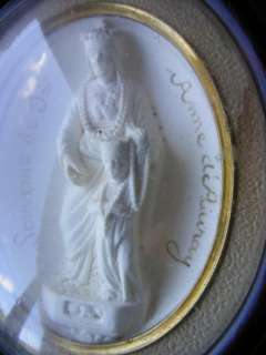 Cadre reliquaire Napoléon III, St Anne dAuray Bretagne