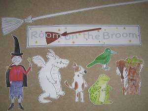 Room on the Broom   teaching resource CD  games,display