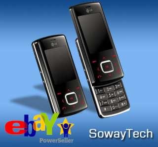 NEW LG CHOCOLATE KG800 BLACK MOBILE PHONE