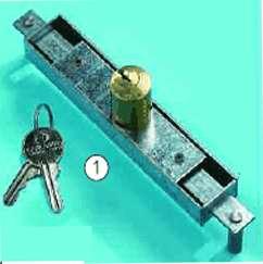 Garlando Coin Football Table Cabinet Lock and Key Set