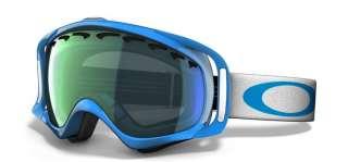 Oakley Snowboard Maschera Goggle Crowbar Jewel Blue/Emerald 57 517