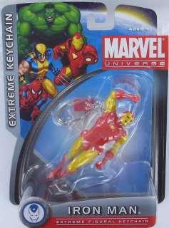 MARVEL Universe IRON MAN Keychain Keyring Extreme S2