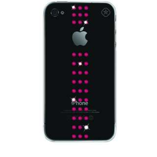Coque strass Swarovski Apple Iphone 4/s   Bling my Thing Pink