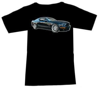 Shirt mit Kult Motiv US Ford Shelby Mustang GT 500 KR