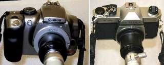 Adaptador para Canon Eos Nikon Pentax y microscopios