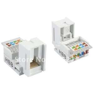 new rj45 cat5e info keystone modules jack tooless 8024: Electronics