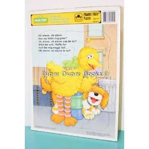 Sesame Street Big Bird Puzzle Oh Where Has My Little Dog Gone