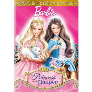 Barbie as The Princess and the Pauper DVD   Universal Studios 1005941