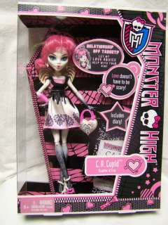 MONSTER HIGH *C A CUPID* DOLL Daughter of Eros SCHOOLS OUT HTF
