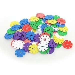 Como Multicolor Creative DIY Educational Kit Snow Building Blocks 75