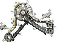 5TDI YD25 YD25DDTI Engine Full Timing Chain kit with gears