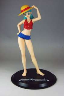 Dragon Ball Z x One Piece   Figurine Manga Bulma   Fr