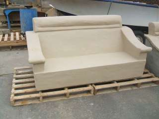 MODERN UNIQUE CONCRETE GARDEN FURNITURE   BESPOKE CHAIR