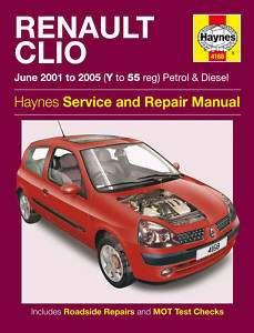 Renault Clio Petrol Diesel 01 05 Haynes Manual 4168 NEW