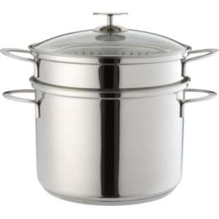 Ceramic Stainless Steel Cooker  Crate and Barrel