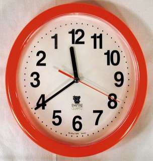 BACKWARDS CLOCK novelty gag joke clock weird gift