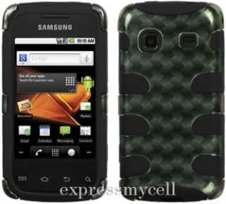 Charger + Screen + 2D FISHBONE Case Cover Straight Talk SAMSUNG GALAXY