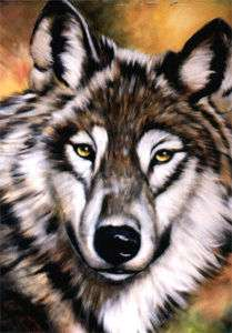 Bob Ross Painting Packet~Wildlife~ Wolf