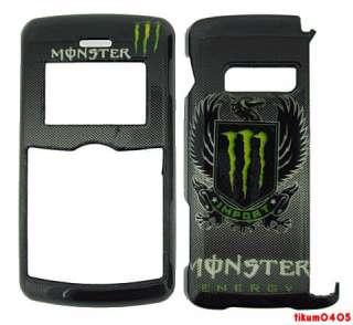 Phone Case LG EnV3 VX9200 Monster Energy Wings Green