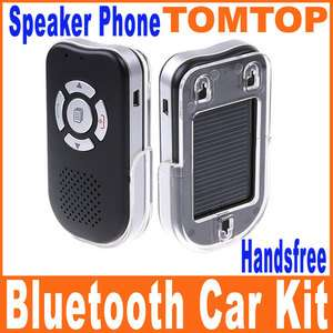 Powered Handsfree Bluetooth Car Kit Speaker Phone TTS Calls Broadcast