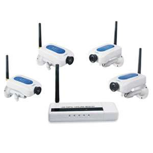 MINI GADGETS HS203IPx4 Wireless Security Camera System