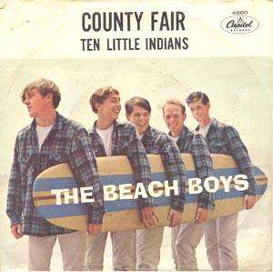 THE BEACH BOYS Ten Little Indians 62 Original With Rare Pic Sleeve