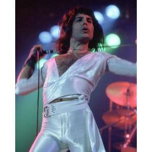 Queen   Freddie Mercury   Photo Art Poster Print 1975