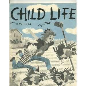 May 1952 Child Life Magazine: Paul Gilbert: Books